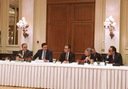 Παρουσία Υπουργού και Υφυπουργού Υγείας σε συνάντηση εργασίας του Ελληνο-Αμερικανικού Εμπορικού Επιμελητηρίου
