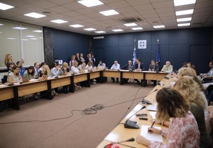 Συνέντευξη Τύπου Υπουργού Υγείας Βασίλη Κικίλια και Υφυπουργού Υγείας Βασίλη Κοντοζαμάνη