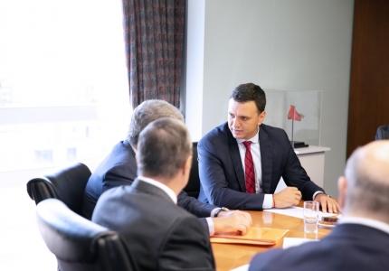 Παρουσία Υπουργού Υγείας Βασίλη Κικίλια στην πρώτη συνεδρίαση του νέου Δ.Σ. του ΩΚΚ
