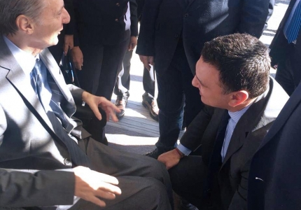 Επίσκεψη Υπουργού Υγείας Βασίλη Κικίλια στο ΠΓΝ Λάρισας