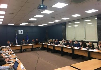 Συνάντηση εργασίας Υπουργού Υγείας με ομάδα εμπειρογνωμόνων για τον νέο κορονοϊό