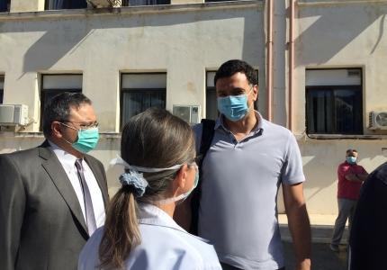 Δήλωση Υπουργού Υγείας Βασίλη Κικίλια μετά την επίσκεψή του στο ΓΝ Σάμου