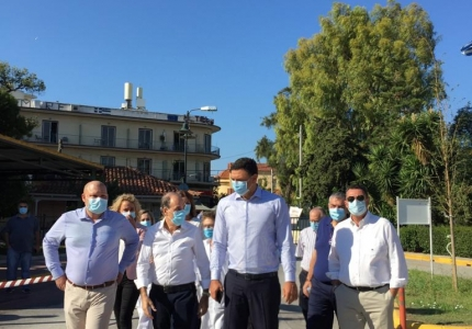 Β. Κικίλιας: Το Ασκληπιείο Νοσοκομείο Βούλας θα είναι σύντομα ένα καινούργιο Νοσοκομείο