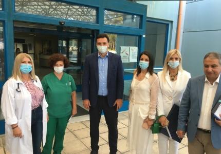 Ο Υπουργός Υγείας, Β. Κικίλιας στην Κέρκυρα. Νέος, μεγάλος, τελευταίας τεχνολογίας μοριακός αναλυτής στο νοσοκομείο του νησιού