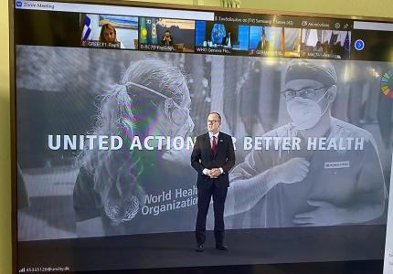 Συμμετοχή Υφυπουργού Υγείας Ζωής Ράπτη στην 70η Σύνοδο της Περιφερειακής Επιτροπής του Παγκόσμιου Οργανισμού Υγείας για την Ευρώπη