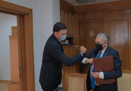 Συνάντηση Υπουργού Υγείας Βασίλη Κικίλια με τον Πρόεδρο του Κεντρικού Ισραηλιτικού Συμβουλίου Ελλάδος Δαυίδ Σαλτιέλ