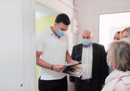 Επίσκεψη Υπουργού Υγείας Βασίλη Κικίλια στο Γενικό Νοσοκομείο Παίδων Πεντέλης