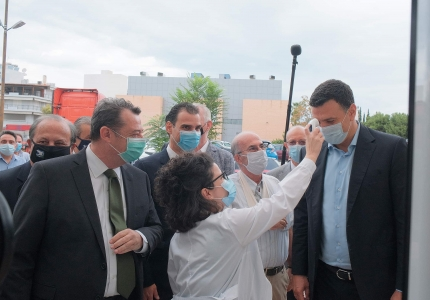 Με 161 Κέντρα Υγείας και 42 Περιφερειακά Ιατρεία η Πρωτοβάθμια Φροντίδα Υγείας στη μάχη του κορονοϊού