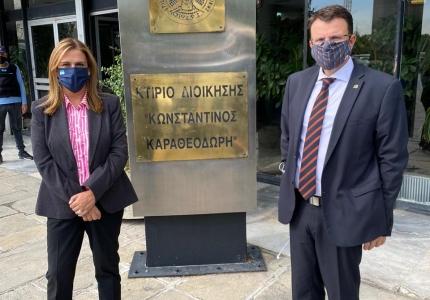 Επίσκεψη Υφυπουργού Υγείας Ζωής Ράπτη σε ψυχιατρικές δομές Νοσοκομείων της Θεσσαλονίκης