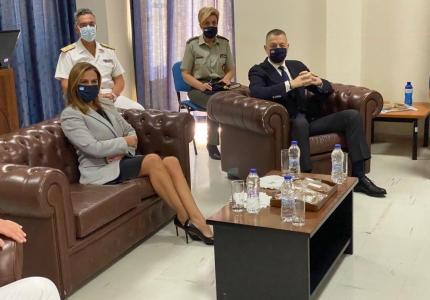 Επίσκεψη Υφυπουργού Υγείας Ζωής Ράπτη στο Ναυτικό Νοσοκομείο Πειραιά και το Κέντρο Ειδικής Φροντίδας Παιδιού - Συνεργασία με το ΥΠΕΘΑ σε θέματα ψυχοκοινωνικής υποστήριξης ενηλίκων και παιδιών
