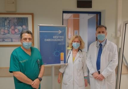 Η Εθνική Εκστρατεία Εμβολιασμού για την covid-19 ξεκίνησε