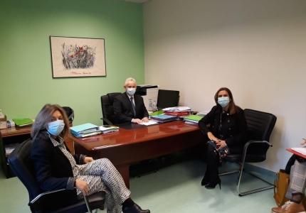 Επίσκεψη Υφυπουργού Υγείας Ζωής Ράπτη στο ΓΝ Νέας Ιωνίας Κωνσταντοπούλειο - Πατησίων Αγία Όλγα