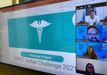 Ενημερωτικό Σημείωμα- Τηλεδιάσκεψη Υπουργού Υγείας Βασίλη Κικίλια με την Ελληνική Εθνική Ομάδας Ρομποτικής «First Global Challenge Team Greece»