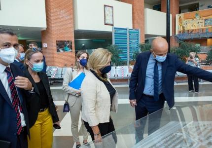 Επισκέψεις της Αναπληρώτριας Υπουργού Υγείας Μίνας Γκάγκα στη Θεσσαλονίκη