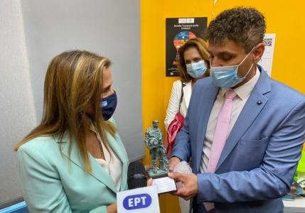 Εγκαίνια Μονάδας Τηλεψυχιατρικής στο ΠΠΙ Σύμης από την Υφυπουργό Υγείας Ζωή Ράπτη