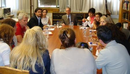 Συνάντηση του Υφυπουργού Υγείας κ. Αντώνη Μπέζα με τον Πανελλήνιο Σύλλογο Υγειονομικών Υπαλλήλων ΕΟΠΥΥ.