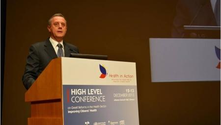 Ομιλία του Υφυπουργού Υγείας, κ. Αντώνη Μπέζα, στη Διάσκεψη Υψηλού Επιπέδου με θέμα «Ελληνικές Μεταρρυθμίσεις στον Τομέα της Υγείας: Βελτιώνοντας την Υγεία των Πολιτών».