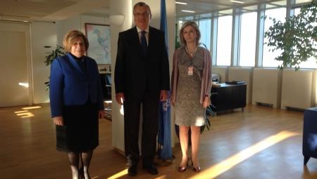 Η Υφυπουργός Υγείας, κα. Ζέττα Μακρή, εκπροσώπησε την Ευρωπαϊκή Ένωση στο πλαίσιο της Ελληνικής Προεδρίας.