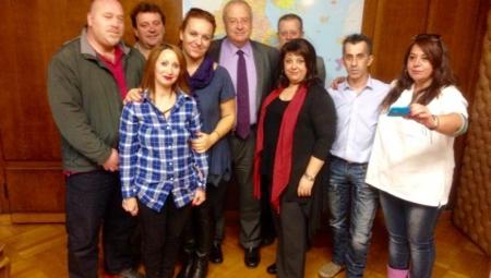Συνάντηση του Υπουργού Αναπλ. Υγείας, Λεωνίδα Γρηγοράκου, με εκπροσώπους ΣΥΝΔΕ-ΠΑΣΟΝΟΠ.