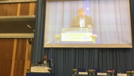 Ο υπουργός Υγείας, Ανδρέας Ξανθός στην 62η Σύνοδο του Οργανισμού Ηνωμένων Εθνών για τα Ναρκωτικά (CND), στη Βιέννη