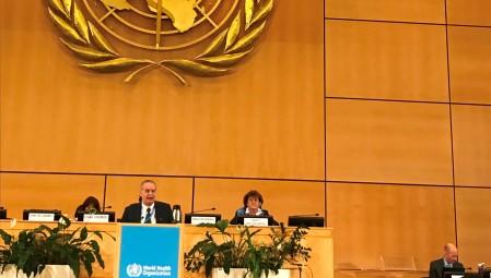 Η συμμετοχή της Ελλάδας στη Γενική Συνέλευση του Παγκόσμιου Οργανισμού Υγείας, στη Γενεύη