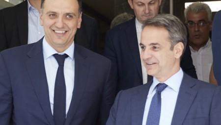 Επίσκεψη του Πρωθυπουργού Κυριάκου Μητσοτάκη στο Υπουργείο Υγείας