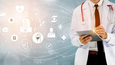 Γιατρός Tablet Ηλεκτρονική Υγεία