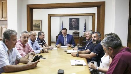 Συνάντηση Υπουργού Υγείας Βασίλη Κικίλια με την Ε.Ε. της ΠΟΕΔΗΝ