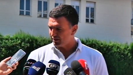 Δήλωση Υπουργού Υγείας Βασίλη Κικίλια μετά την επίσκεψη στον εγκαυματία εθελοντή πυροσβέστη