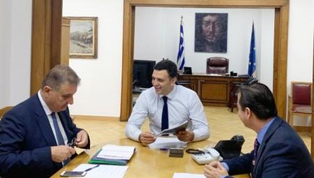 Συνάντηση Υπουργού Υγείας Βασίλη Κικίλια με τον Πρόεδρο του Π.Ι.Σ. Αθανάσιο Εξαδάκτυλο