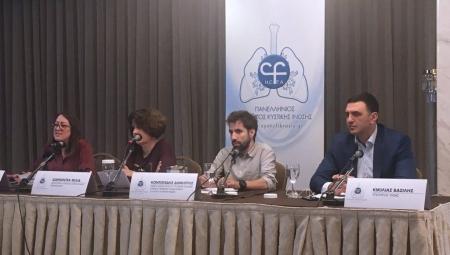 Ομιλία Υπουργού Υγείας Βασίλη Κικίλια σε συνέντευξη Τύπου για την Ευρωπαϊκή Εβδομάδα Κυστικής Ίνωσης