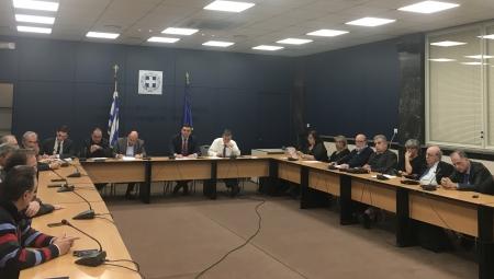 Συνάντηση Υπουργού Υγείας Βασίλη Κικίλια με διευθυντές ΜΕΘ