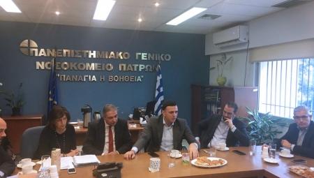 Επίσκεψη Υπουργού Υγείας Βασίλη Κικίλια στην Πάτρα. Δηλώσεις για την επαναλειτουργία της Καρδιοθωρακοχειρουργικής Κλινικής στο Πανεπιστημιακό Νοσοκομείο Πατρών