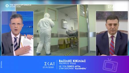 Β. Κικίλιας: Θα συνεχίσουμε τα στοχευμένα τεστ στις επιβαρυμένες περιοχές της Αθήνας και όπου χρειαστεί