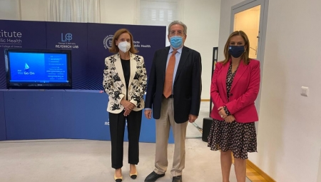Συνάντηση Υφυπουργού Υγείας Ζωής Ράπτη με τον Καθηγητή Παναγιώτη Μπεχράκη