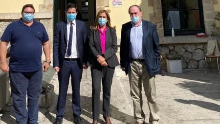Επίσκεψη Υφυπουργού Υγείας Ζωής Ράπτη στο Αιγινήτειο Νοσοκομείο