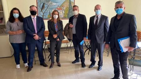 Επίσκεψη Υφυπουργού Υγείας Ζωής Ράπτη στα Ιωάννινα