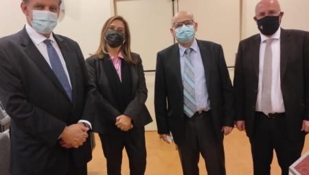 Εγκαίνια Πανεπιστημιακής Ψυχιατρικής Κλινικής στο ΓΟΝΚ «Οι Άγιοι Ανάργυροι» από την Υφυπουργό Υγείας Ζωή Ράπτη