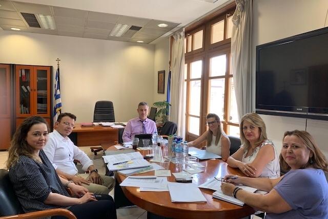 Επίσκεψη Γενικού Γραμματέα Υπηρεσιών Υγείας Ιωάννη Κωτσιόπουλου στη Θεσσαλονίκη