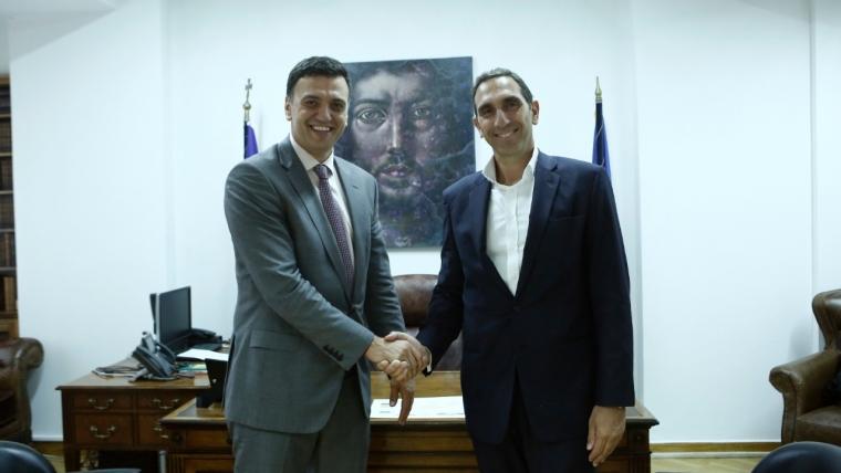 Δηλώσεις Υπουργού Υγείας Βασίλη Κικίλια και Υπουργού Υγείας της Κυπριακής Δημοκρατίας Κωνσταντίνου Ιωάννου
