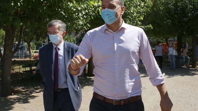 Σε ΚΟΜΥ του ΕΟΔΥ στην Κυψέλη ο Υπουργός Υγείας Βασίλης Κικίλιας