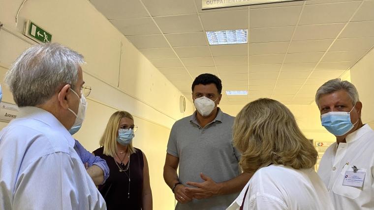 Επίσκεψη Υπουργού Υγείας Βασίλη Κικίλια στο  Σισμανόγλειο