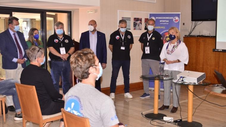 Μίνα Γκάγκα: Υγειονομική κάλυψη σε κάθε γωνιά της Ελλάδας- Η εκπαίδευση για την αντιμετώπιση του τραύματος αποτελεί βασική πολιτική μου προτεραιότητα