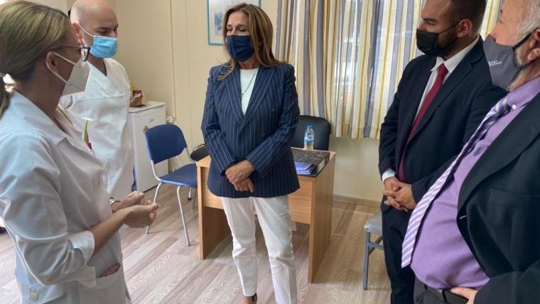 Επίσκεψη Υφυπουργού Υγείας Ζωής Ράπτη στο Παναρκαδικό Γ.Ν. Τρίπολης