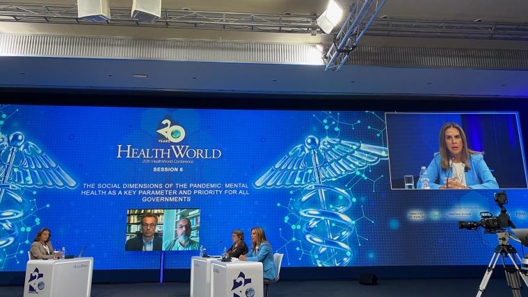 Ομιλία Υφυπουργού Υγείας Ζωής Ράπτη στο 20ο Συνέδριο HEALTHWORLD CONFERENCE του Ελληνοαμερικανικού Εμπορικού Επιμελητηρίου