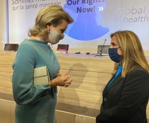 Η Υφυπουργός Υγείας Ζωή Ράπτη στην Παγκόσμια Σύνοδο Κορυφής για την Ψυχική Υγεία