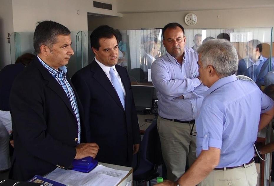 Επίσκεψη του Υπουργού Υγείας, κ. Άδωνι Γεωργιάδη, σε Καστελλόριζο και Ρόδο.