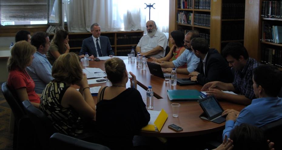 Συνάντηση του Υφυπουργού Υγείας, κ. Αντώνη Μπέζα, με συλλόγους διατροφολόγων-διαιτολόγων.