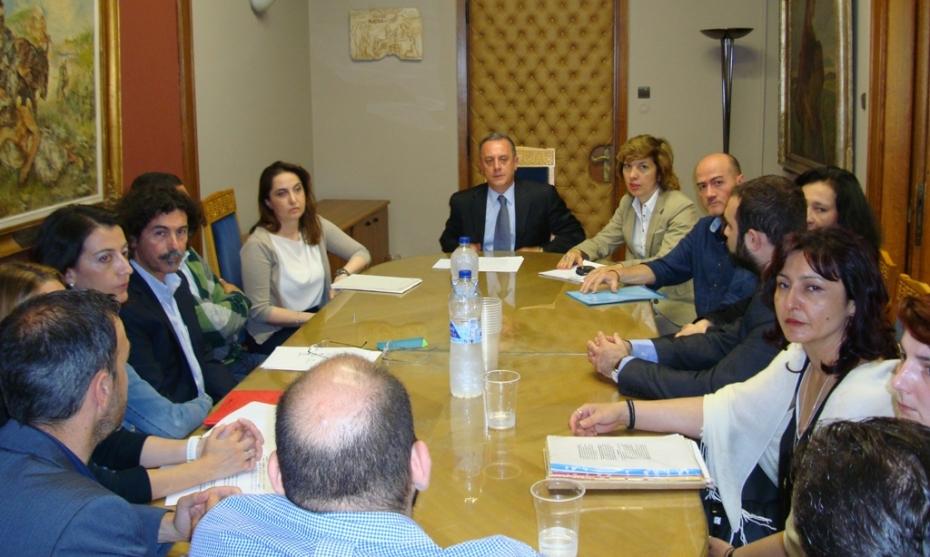 Συνάντηση του Υφυπουργού Υγείας, κ. Αντώνη Μπέζα, με Συλλόγους Λογοθεραπευτών.