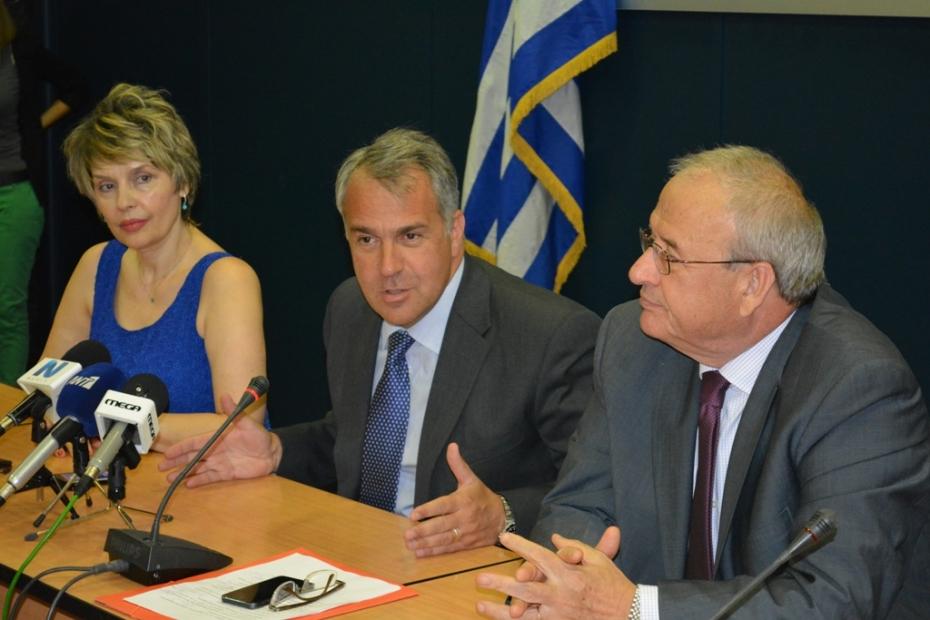 Συνέντευξη Τύπου της Πολιτικής Ηγεσίας του Υπουργείου Υγείας για φαρμακευτική κάλυψη ανασφαλίστων και προσλήψεις.